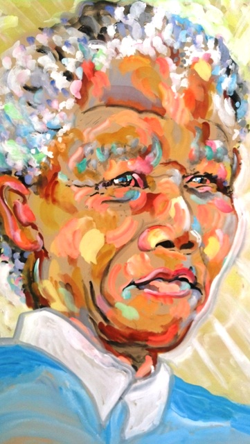 Nelson Mandela by James Paul Brown
