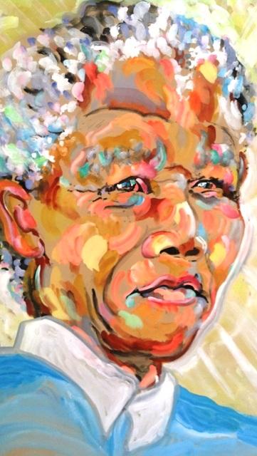 Nelson Mandela by James Paul Brown